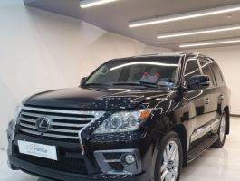 گزارش کارشناسی خودرو لکسوس LX570