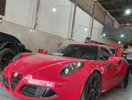 گزارش کارشناسی خودرو آلفا رومئو 4C