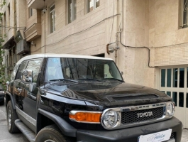 گزارش کارشناسی خودرو تویوتا FJ Cruiser